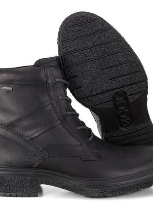 Ботинки  ecco crepetray hybrid m (goretex). оригинал. размер 43.