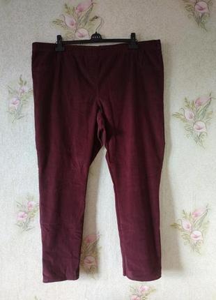 Женские штаны большого размера # вельветовые штаны # george
