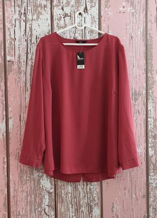 Шикарная блуза с запахом на спинке