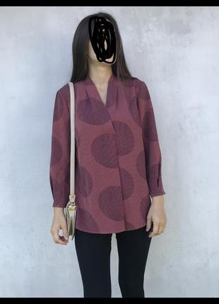 Красивая блуза в горох блюзка в горох базовая блуза