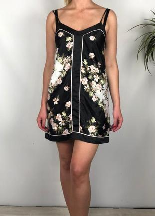 Атласное платье бельевого стиля/ночнушка ted baker p.m