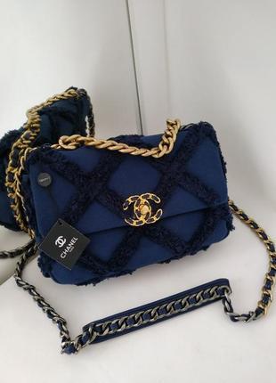 Трендовая сумка в стиле chanel