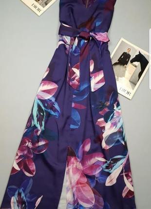 Платье макси в цветочный принт closet p.10