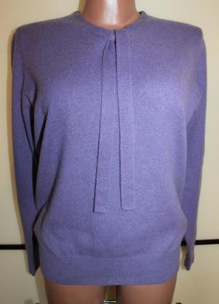 Кашемировый свитер джемпер  р. м на 44-46 р