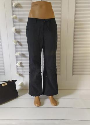 Брюки штаны широкие оверсайз чёрные,  s/m