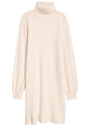Кашемировое платье h&m premium 💯 кашемир