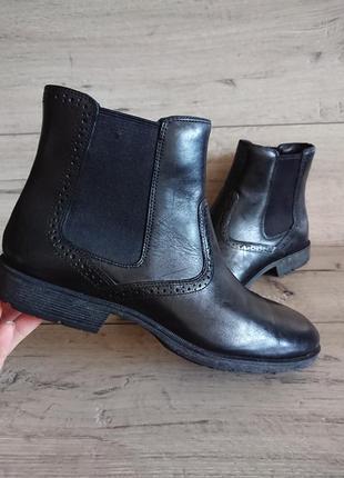 Ботинки деми rockport tmps chelsea челси 42-43р кожа