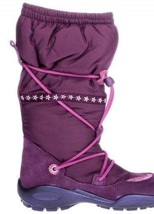 Зимові термо-чоботи ecco winter queen, р.30, данія / термо сапоги