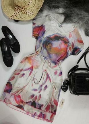 Очень красивое нежное шифоновое платье