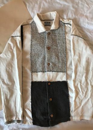 Женская рубака в винтажном стиле