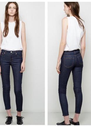 Оригинальные джинсы скинни acne studios flex raw reform skinny jeans