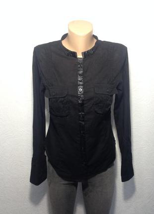 Хлопковая рубашка легкая
