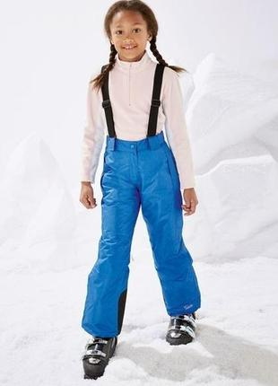 Crivit. лыжные штаны на подтяжках 134 - 140 размер.