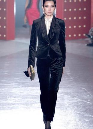 Велюровый брюки чернильного цвета  paul kehl - pkz