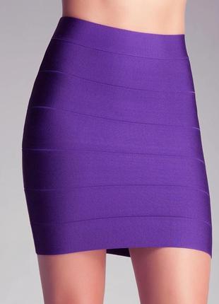 ❤️красивая сиреневая юбка