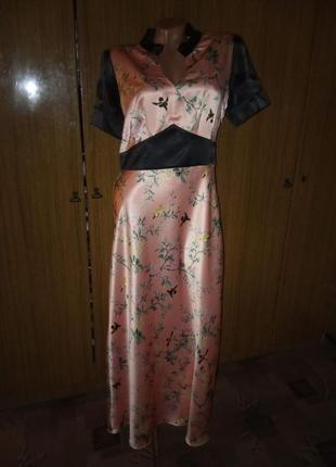 Атлассное платье от myleene klass