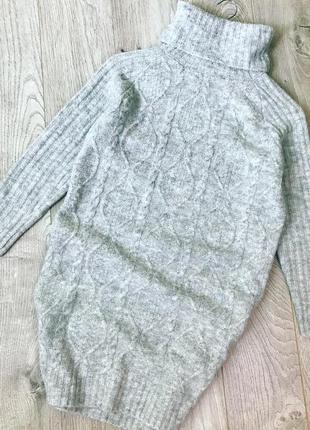 Тепла сукня-водолазка з горловиною primark.