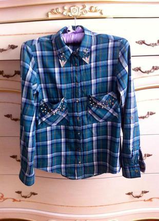 Крутая рубашка в клетку оригинал zara