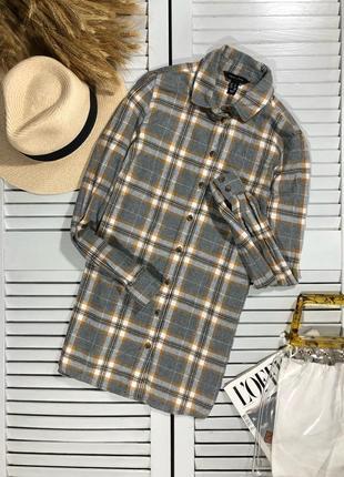🌿 байковая рубашка в клетку от new look