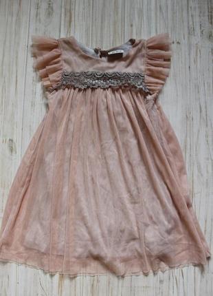 Платье next на 3-4года