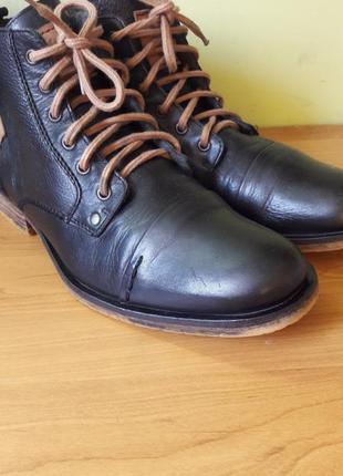 Кожаные ботинки am
