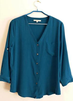 Шелковая блузка 41 hawthorn