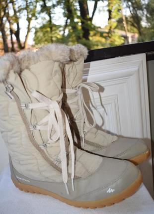 Зимние сапоги ботинки водонепроницаемые nivadry quechua кечуа р.40 26 см