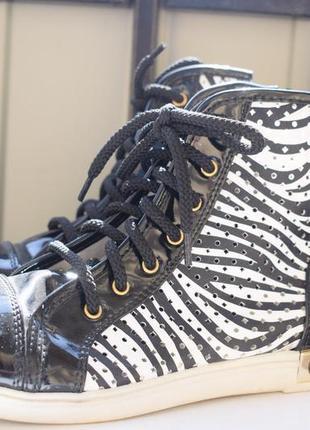 Кеды высокие мокасины кроссовки р.40 26,2 см