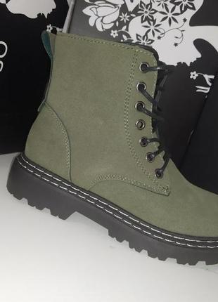 Теплые ботинки осень 🍁 деми на флисе осенние