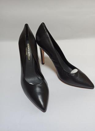 Roberto botella туфли черные.брендове взуття stock