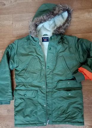 Куртка  парка чилдрен плейс 10-12лет