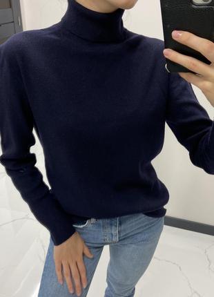 Шерстяной свитер кофта водолазка ralph lauren