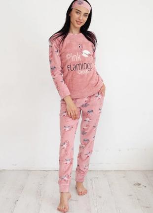 Женская теплая пижама. много расцветок