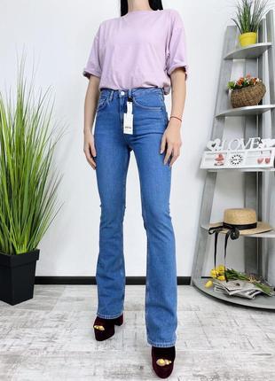 Новые джинсы клеш в винтажном стиле винтаж topshop