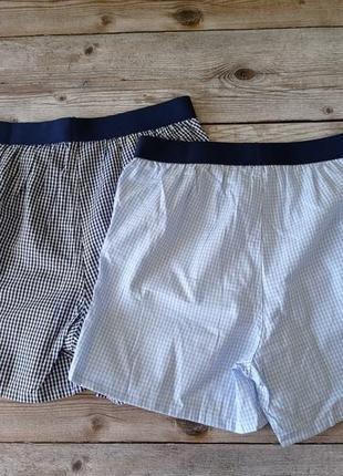 Комплект 2 шт.⚙ боксеры для мальчика из хлопка, tchibo(германия), размеры 134-140
