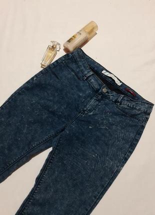 Брендовые джинсы, джеггинсы, высокая посадка, тянутся