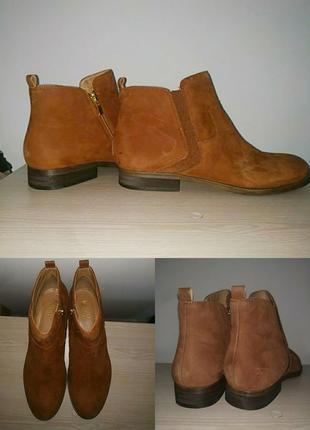 Ботинки 42-43 р кожаные большой размер