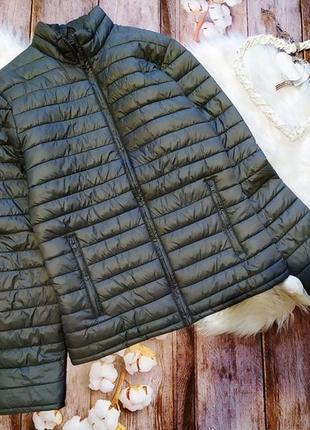 Брендовая серая стеганая куртка sisley, размер s-xs