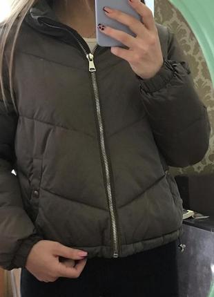 Куртка осенняя bershka