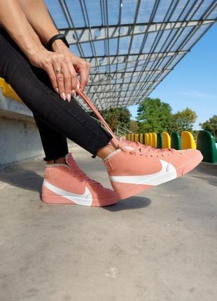 Nike blazer fur кроссовки женские найк аир