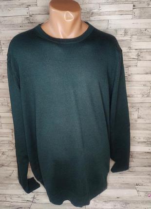 Шерстяной свитер легкий новый сток