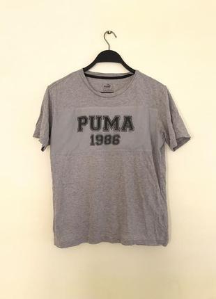 Футболка puma серая оригинал