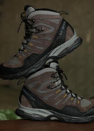 Мужские ботинки salomon conquest gore-tex