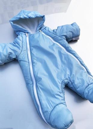 Зимний комбинезон для новорожденных от 0-3 месяцев