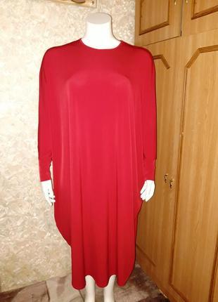 Свободное платье кокон размер 20-22
