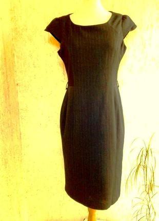 Красивое платье футляр, cарафан  в полоску, l