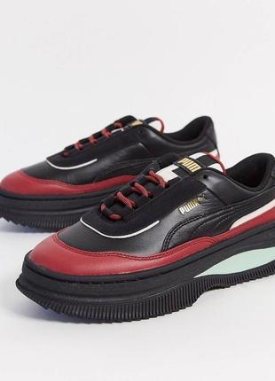Смелые кроссовки с цветными вставками puma