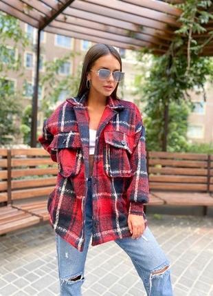 Рубашка-пальто