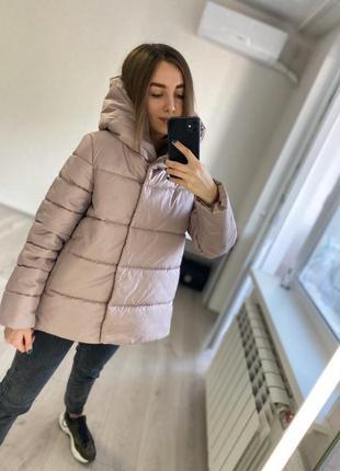Свободная демисезонная осенняя куртка для беременных и не только