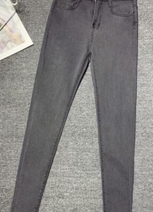 Серые джинсы topshop